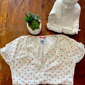 The North Face Short Sleeved Cotton Blouse